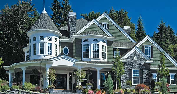 Home styles for Queen anne victorian homes